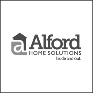 Grayscale Logo Alford