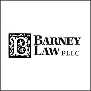Grayscale Logo Barney