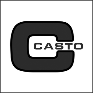 Grayscale Logo Casto