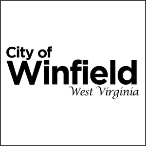Grayscale Logo City of Winfield