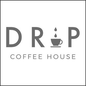 Grayscale Logo Drip