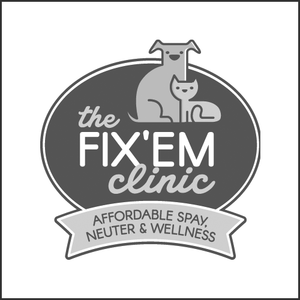 Grayscale Logo Fixem Clinic