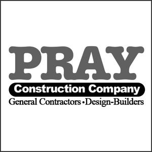 Grayscale Logo Pray