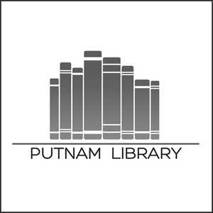 Grayscale Logo Puntam Library