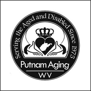 Grayscale Logo Putnam Aging