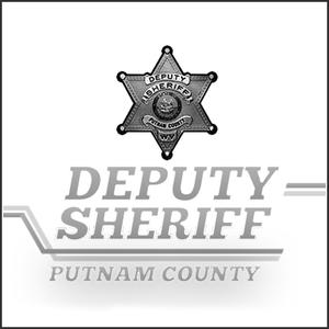 Grayscale Logo Putnam County Sheriff