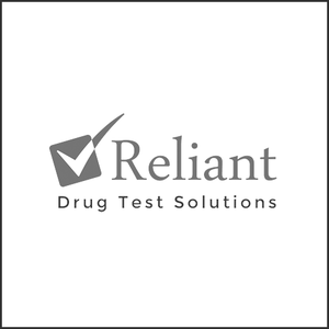 Grayscale Logo Reliant Drug Test