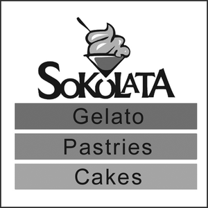 Grayscale Logo Sokolata