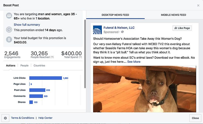 Facebook For Lawyers - Local Impact
