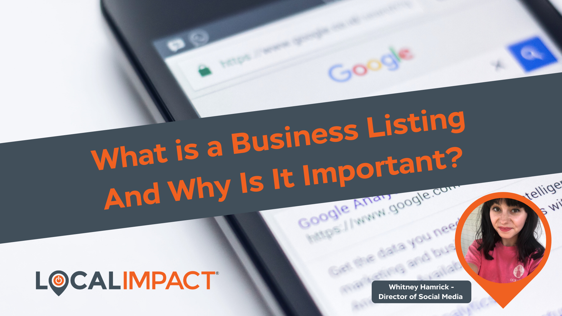 What is a Business Listing and Why is it Important? - Local Impact Blog