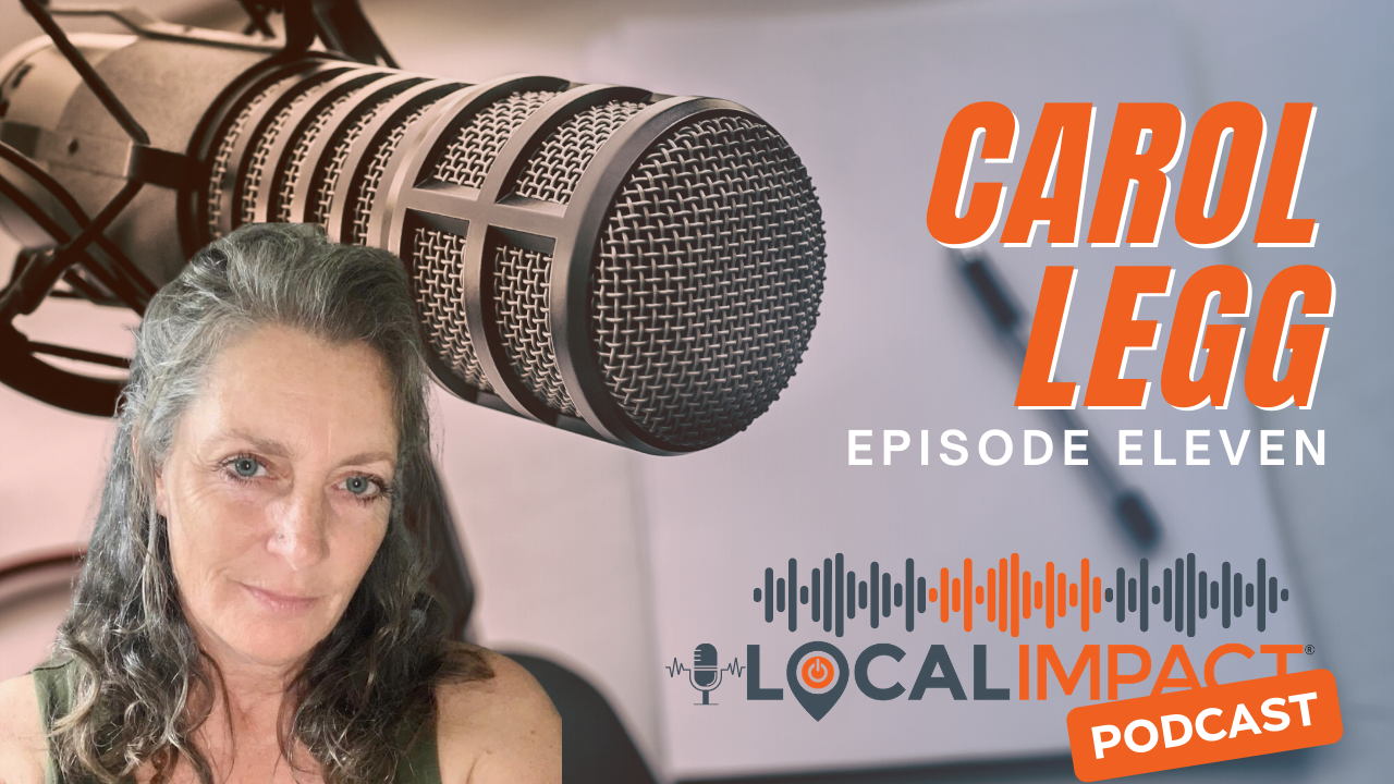 Carol Legg of 4 The Boys Farm on the Local Impact Podcast